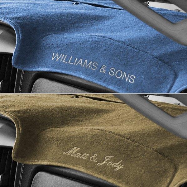 ... Polycarpet Dark Blue Custom Dash Cover EmbroideryCoverking® ...
