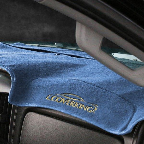 ... EmbroideryCoverking® - Polycarpet Dark Blue Custom Dash Cover ...