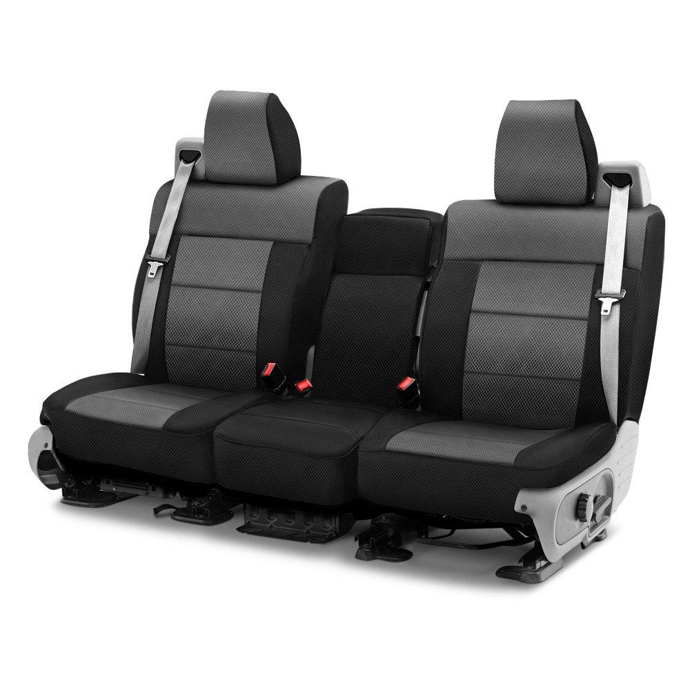 Coverking® CSC2S3FD7420 - Spacer Mesh 1st Row Black & Gray Custom ...