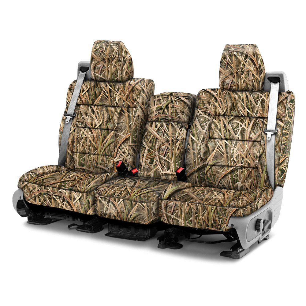 c57ce19df412b Coverking® - Mossy Oak™ 1st Row Shadow Grass Blades Custom Seat Covers