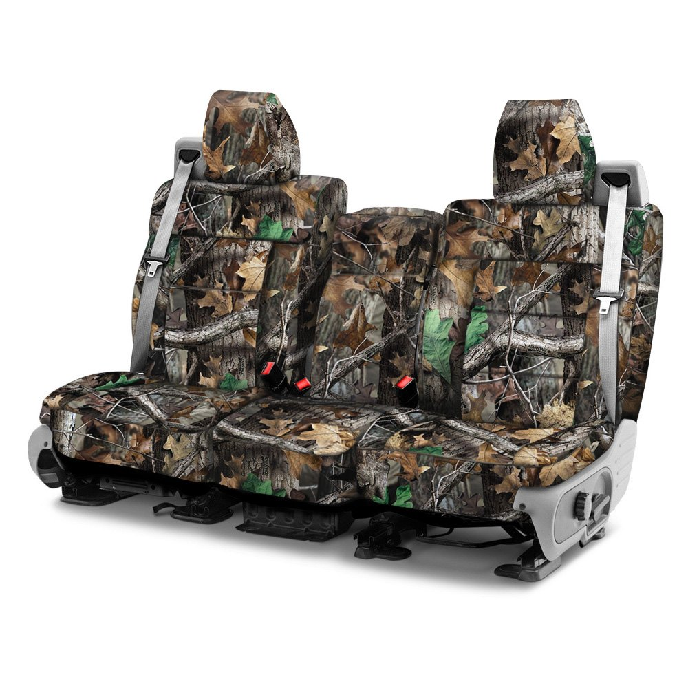 Camouflage Seat Covers For Ford F150 >> Realtree Split Bench Seat Covers - Velcromag
