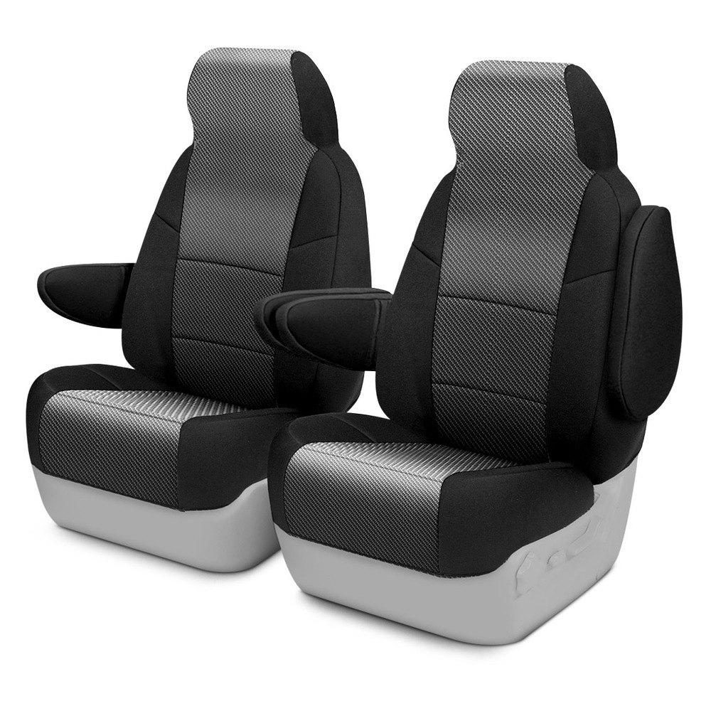 coverking®  designer printed neosupreme custom seat covers -  designer printed neosupreme st row custom seat