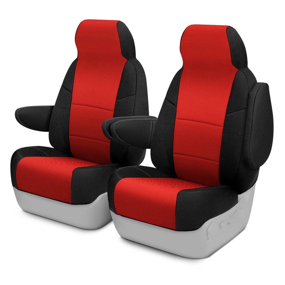 Coverking® CSC2S7PN7069 - Spacer Mesh 1st Row Black & Red Custom ...