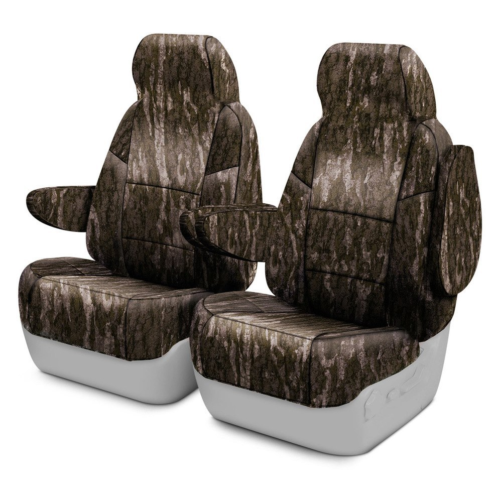 Coverking®   Mossy Oak™ 2nd Row Bottomland Custom Seat Covers
