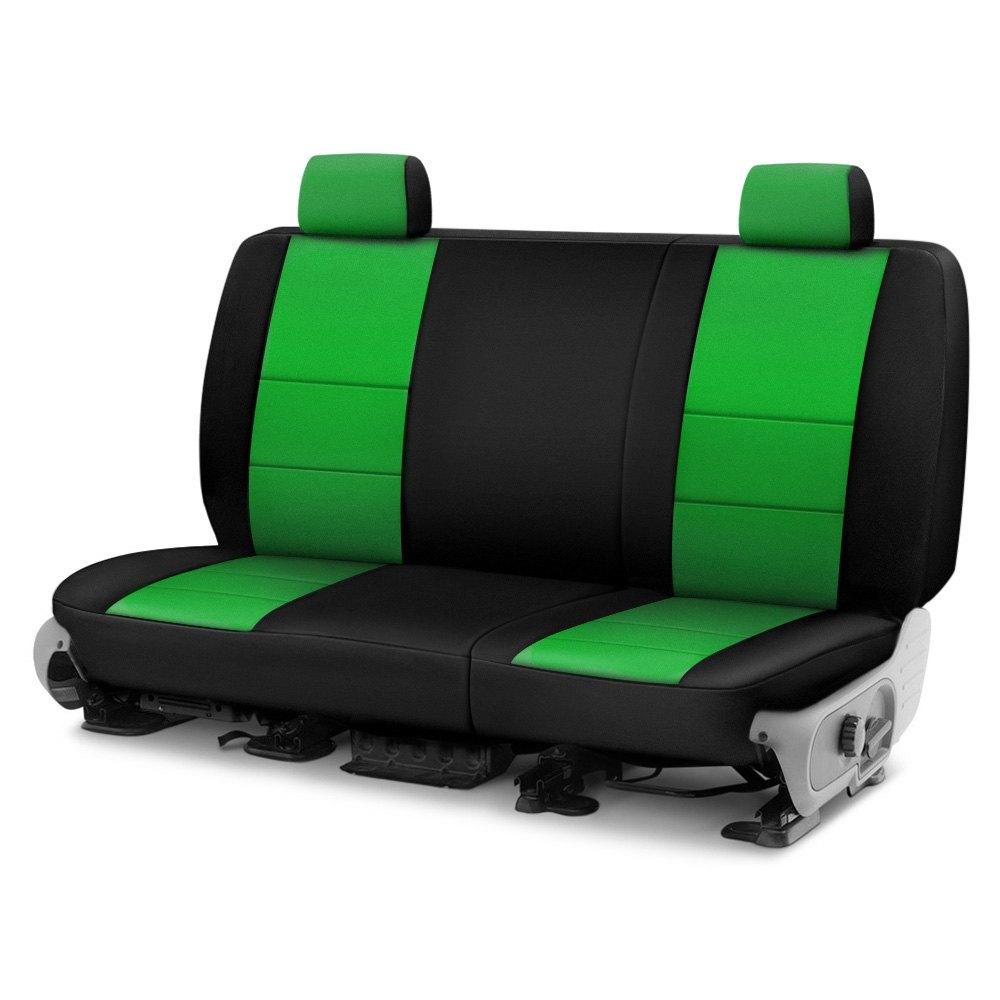 Coverking cscf91jp9450 cr grade neoprene 2nd row black for Garage seat 91