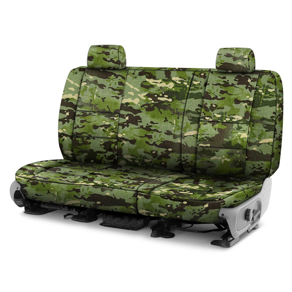 Coverking 174 Cscmc4ch9672 Multicam 2nd Row Camo Tropic Custom Seat Covers