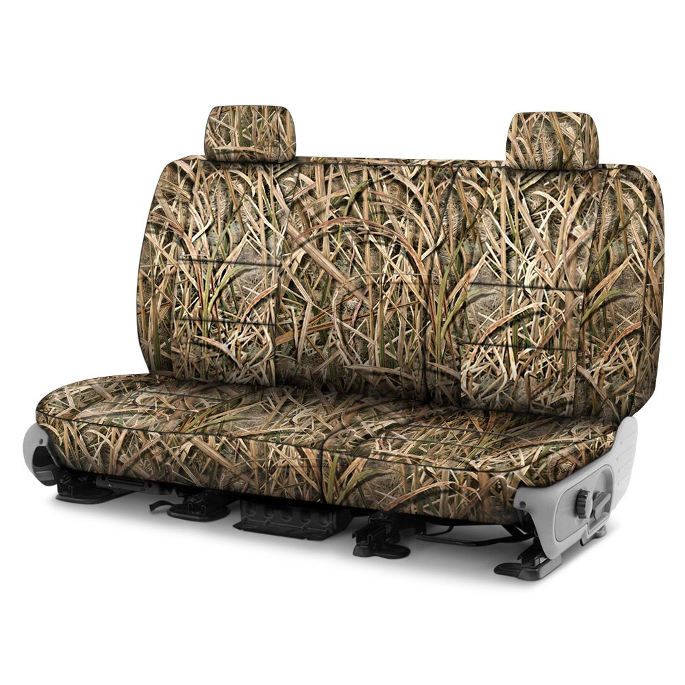 Awe Inspiring Coverking Cscmo07Gm9560 Mossy Oak 2Nd Row Camo Shadow Grass Blades Custom Seat Covers Cjindustries Chair Design For Home Cjindustriesco