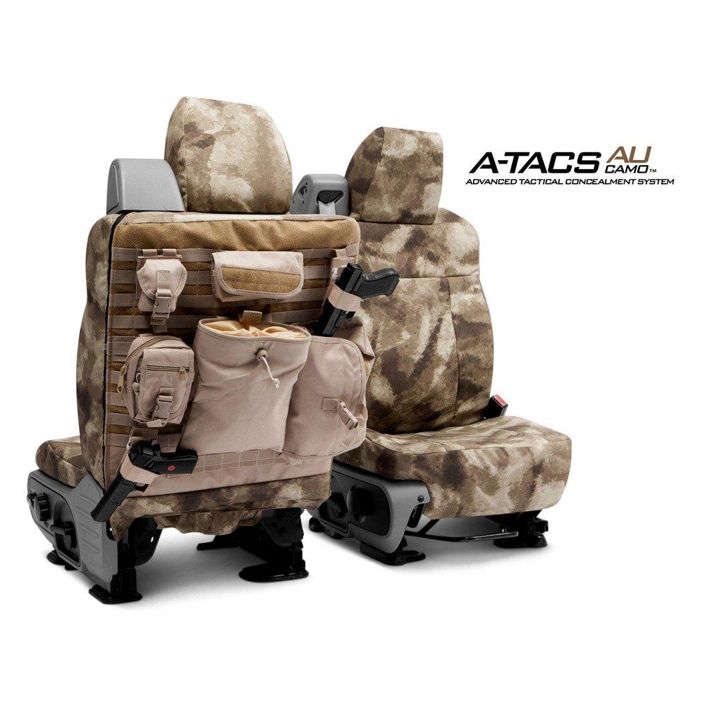Coverking®   A TACS Tactical Camo Custom Seat Covers
