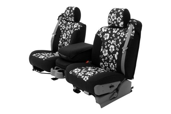 coverking cscf9dg9542 dodge journey 2011 2015 1st row cr grade neoprene custom hawaiian black. Black Bedroom Furniture Sets. Home Design Ideas