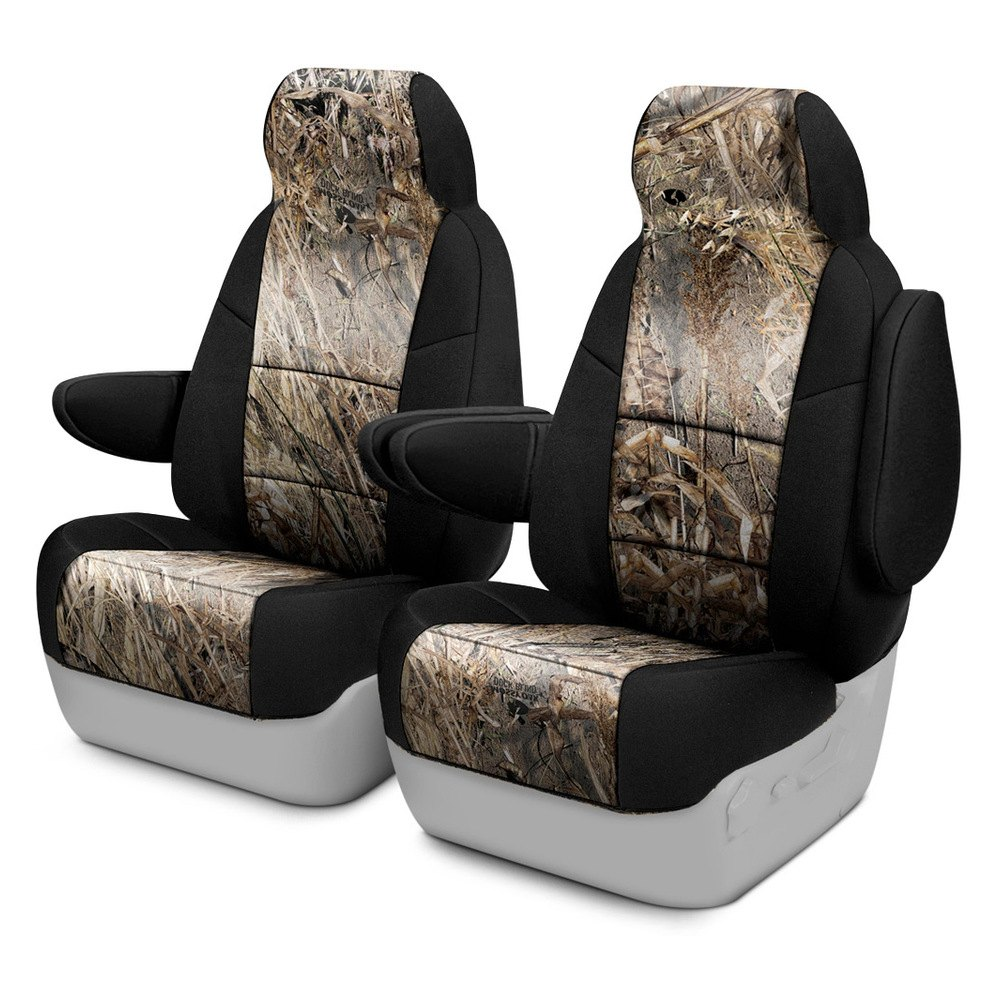 e4ed99dcef971 ... Mossy Oak™ 1st Row Camo 2-Tone Duck Blind Custom Seat CoversCoverking®  ...