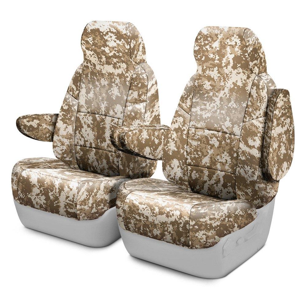Magnificent Coverking Traditional And Digital Camo Custom Seat Covers Inzonedesignstudio Interior Chair Design Inzonedesignstudiocom
