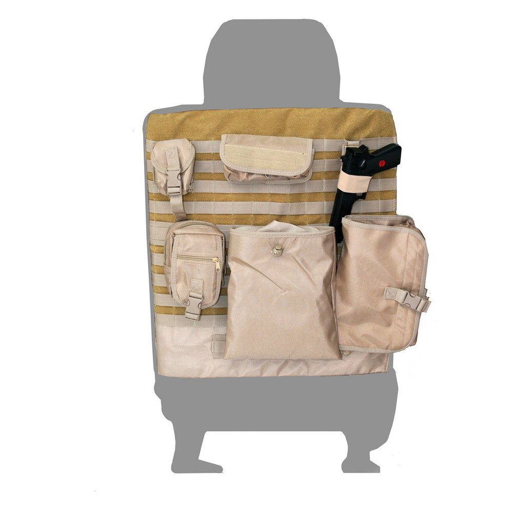 Coverking Cordura Ballistic Tactical Custom Seat Covers