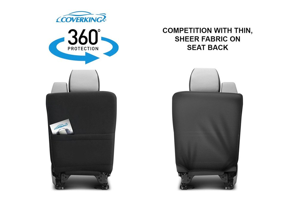 Licensed Collegiate Custom Seat Covers 360