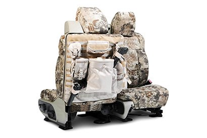 Coverking® - Custom Camouflage Tactical Seat Cover with Kryptek Highlander™ Pattern