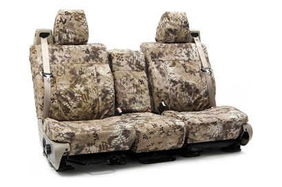 Coverking® - Custom Camouflage Seat Cover with Kryptek Highlander™ Pattern