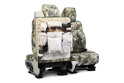 Coverking® - Custom Camouflage Tactical Seat Cover with Kryptek Mandrel™ Pattern