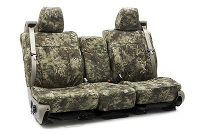 Coverking® - Custom Camouflage Seat Cover with Kryptek Mandrel™ Pattern
