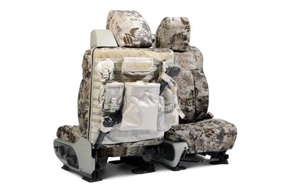 Coverking® - Custom Camouflage Tactical Seat Cover with Kryptek Nomad™
