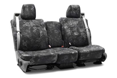 Coverking® - Custom Camouflage Tactical Seat Cover with Kryptek Typhon™ Pattern