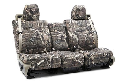 Coverking® - Custom Camouflage Seat Cover with Mossy Oak Brake up infinity Pattern