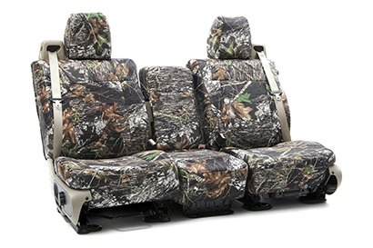 Coverking® - Custom Camouflage Seat Cover with Mossy Oak Brake up Pattern