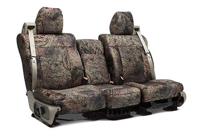 Coverking® - Custom Camouflage Seat Cover with Mossy Oak Brush Pattern