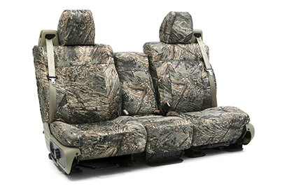 Coverking® - Custom Camouflage Seat Cover with Mossy Oak Duck Blind Pattern
