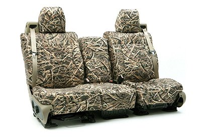 Coverking® - Custom Camouflage Seat Cover with Mossy Oak Shadow Grass Pattern