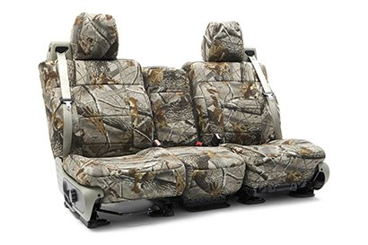 Coverking® - Custom Camouflage Seat Cover with RealTree Hardwoods Pattern