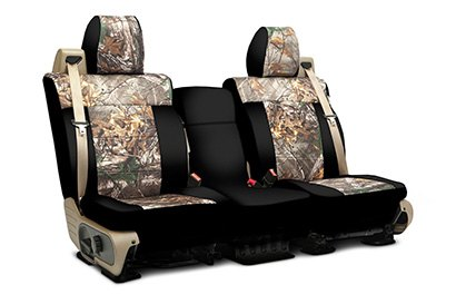 Coverking® - Custom Camouflage Seat Cover with RealTree Xtra Pattern