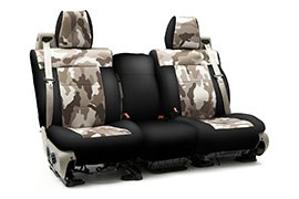 Traditional Camouflage Seat Covers Jungle with Black Sides