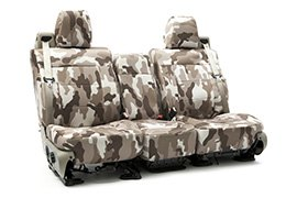 Traditional Camouflage Seat Covers Sand