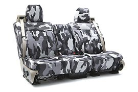 Traditional Camouflage Seat Covers Urban with Black Sides