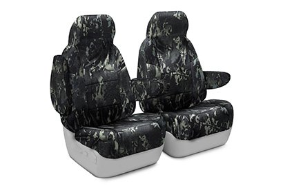 Coverking® - Multicam™ Camo Black Custom Seat Covers