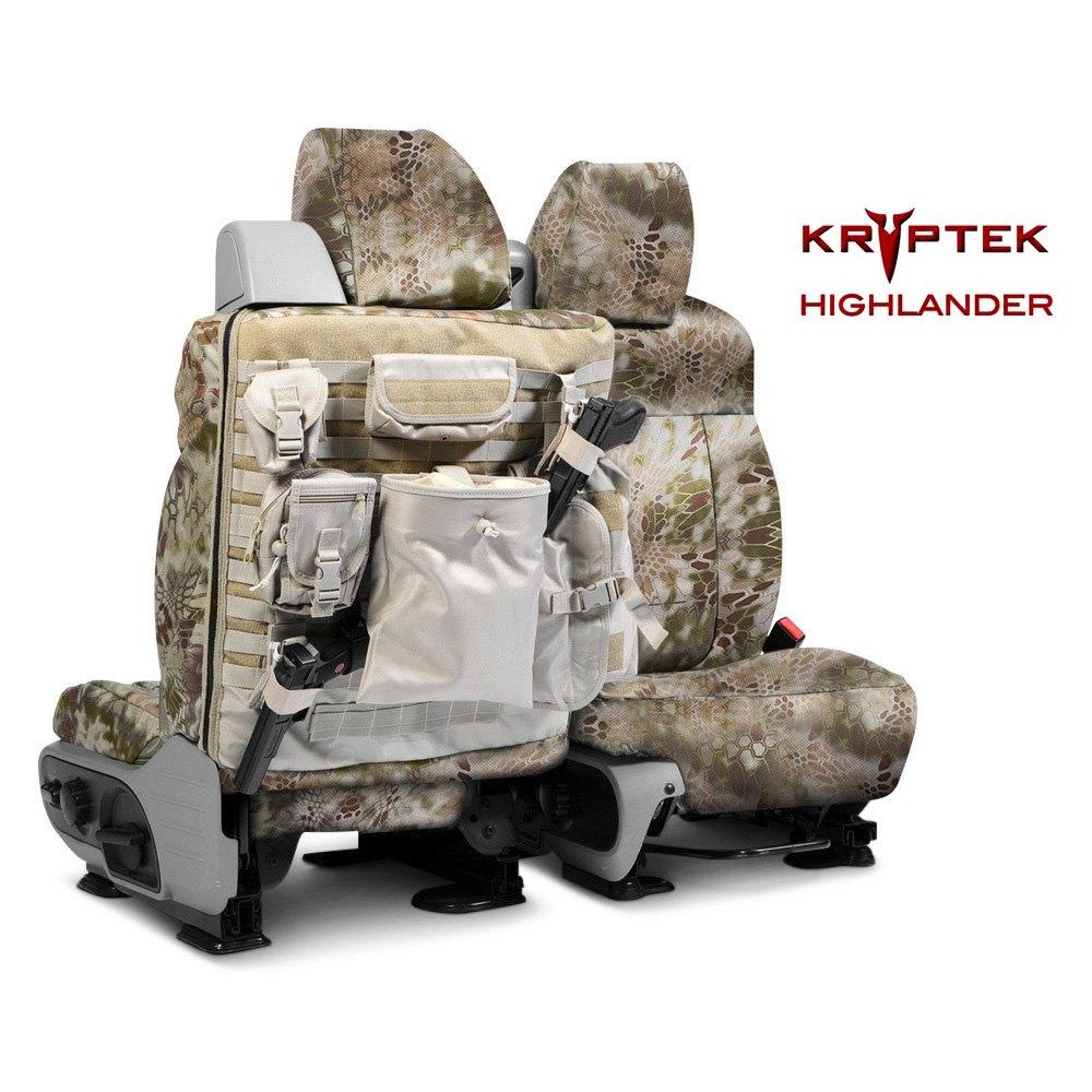 Coverking 174 Kryptek Tactical Camo Custom Seat Covers