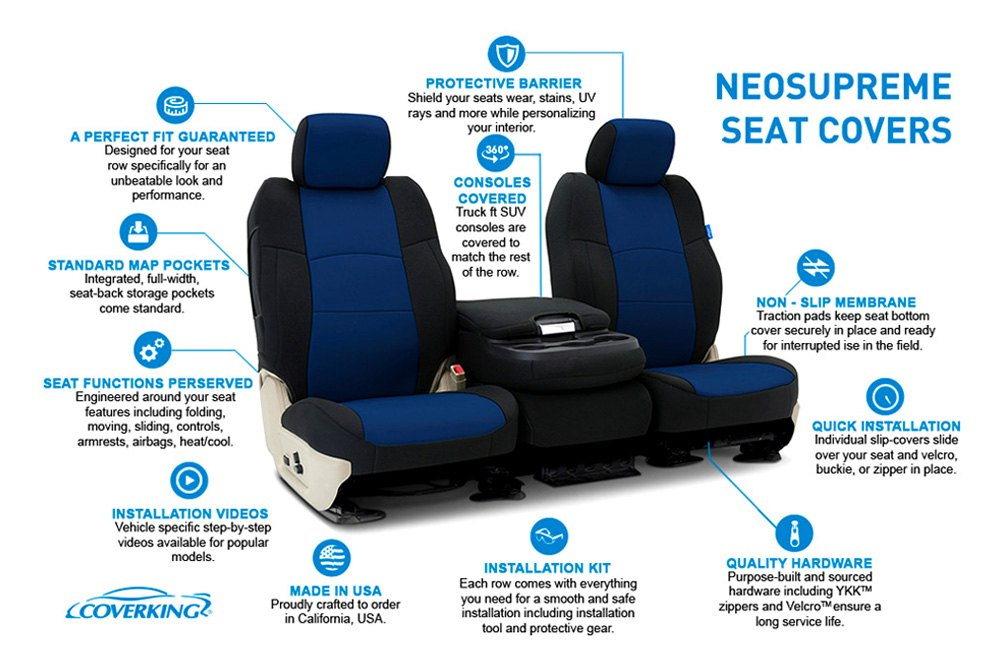 Fabulous Coverking Neosupreme Custom Seat Covers Inzonedesignstudio Interior Chair Design Inzonedesignstudiocom