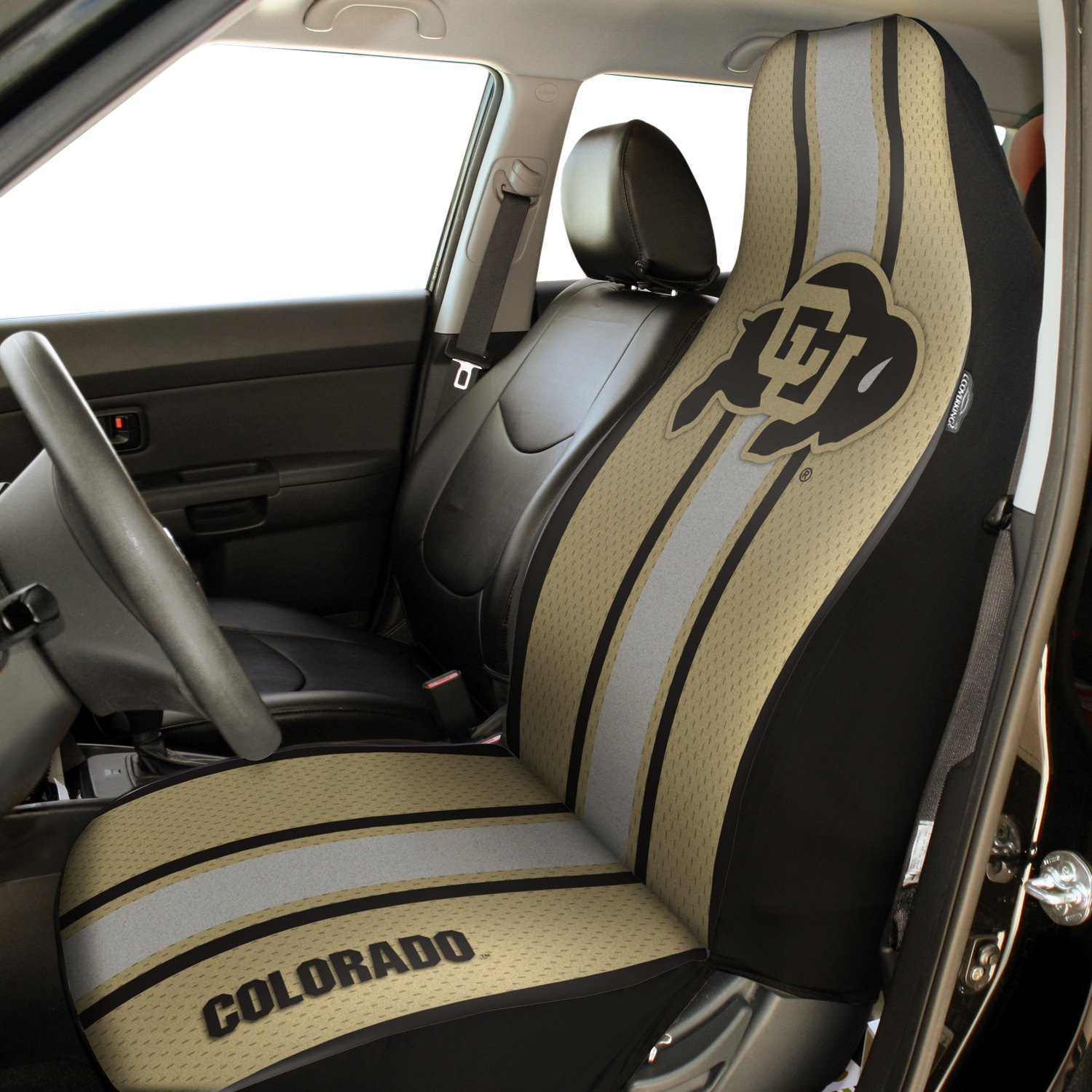 Collegiate Seat Cover University Of Colorado Logos And ColorsCoverkingR