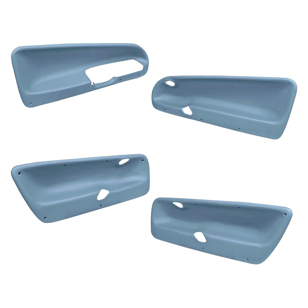 Coverlay Front And Rear Door Panel Inserts