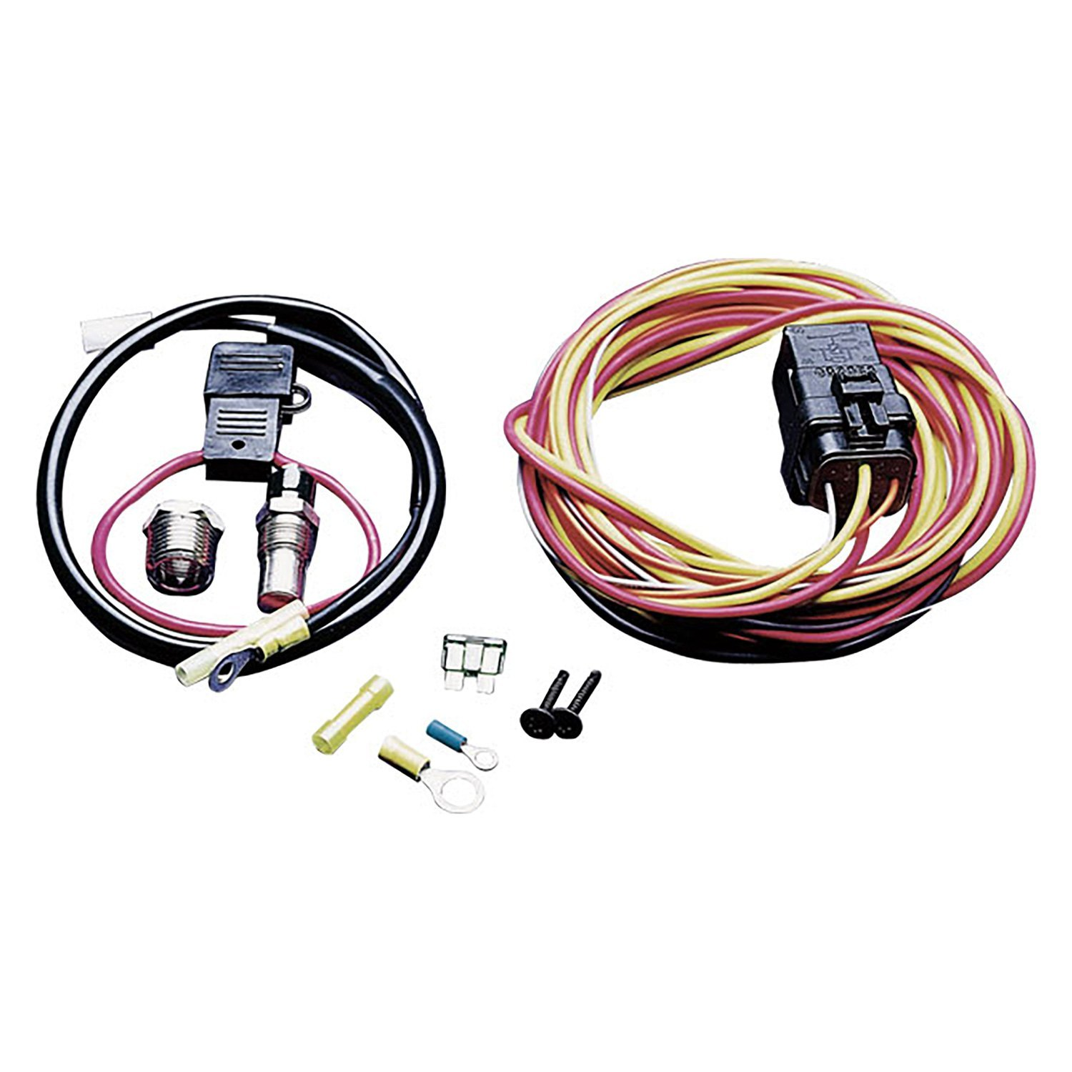 c r racing 174 ix 185fh wiring harness kit with 185 degree thermo switch