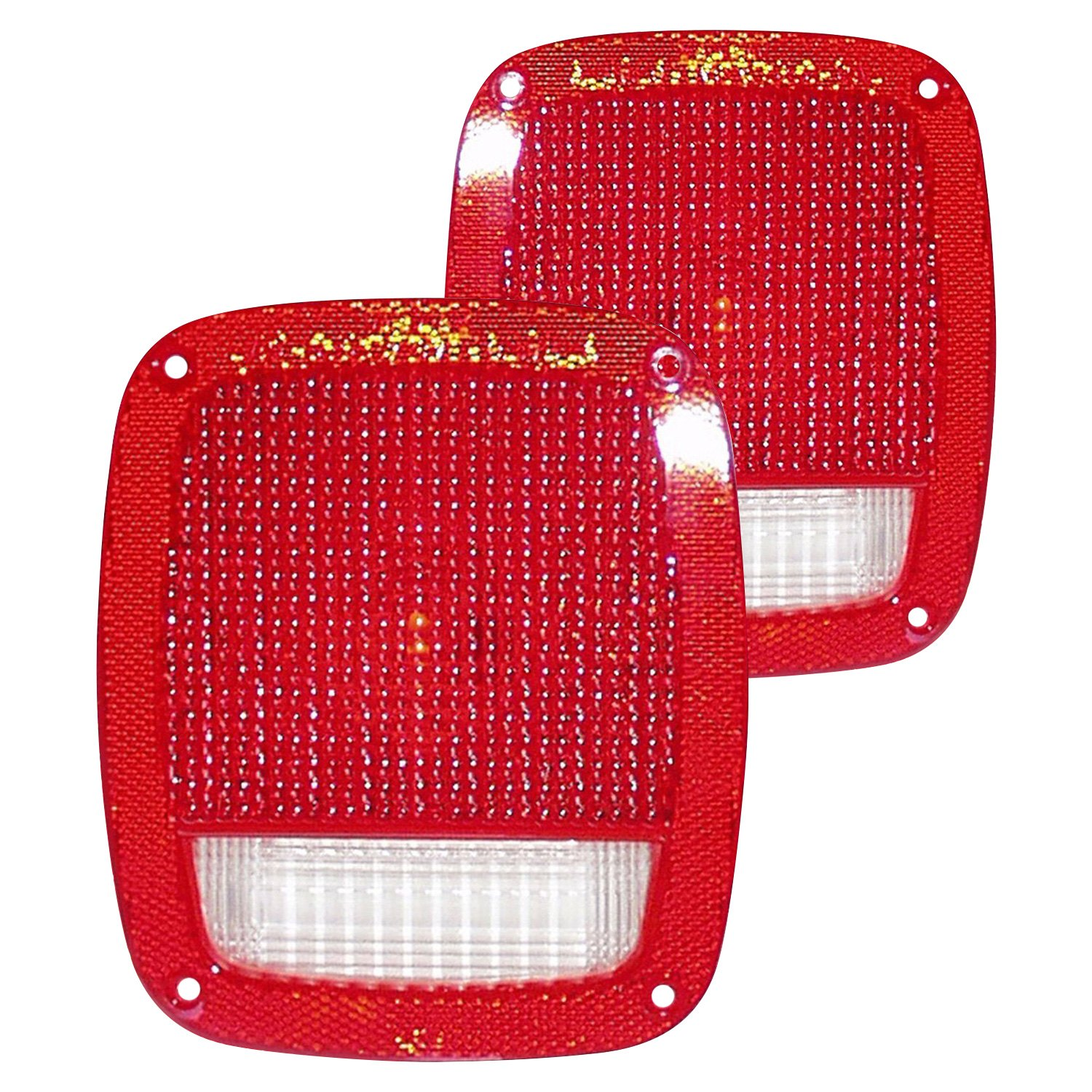 Tail Light Lens Replacement : Crown factory replacement tail light lenses