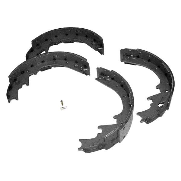Drum Brake Lining : Crown rear drum brake shoe and lining