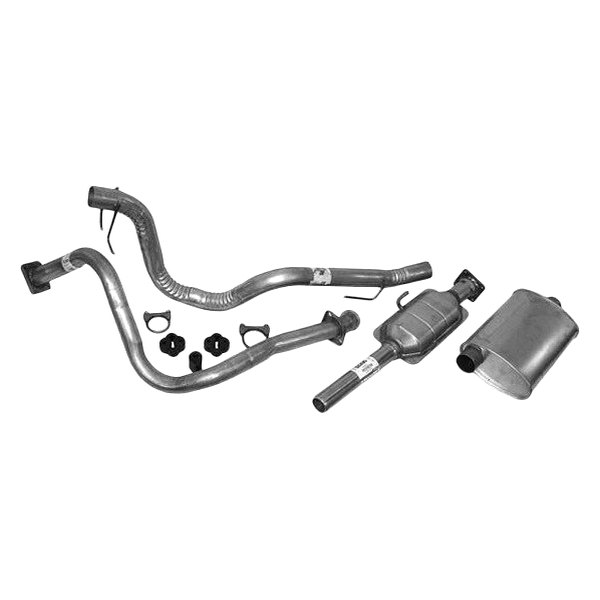 Crown 174 Jeep Wrangler 1989 1990 Replacement Exhaust Kit