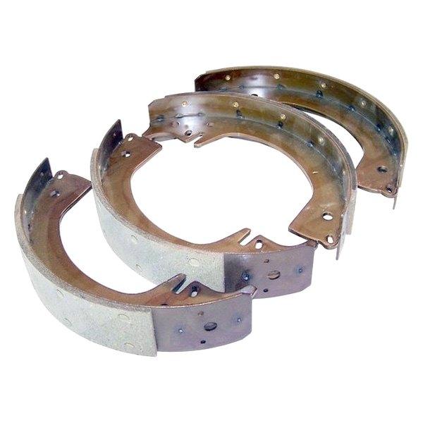 Drum Brake Lining : Crown drum brake shoe and lining kit