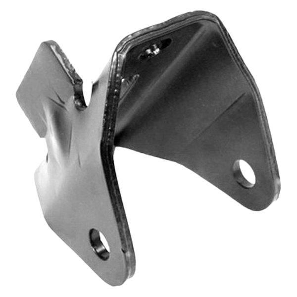 Crown leaf spring hanger bracket