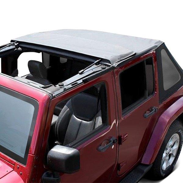 crown jeep wrangler 2014 fold back soft top. Black Bedroom Furniture Sets. Home Design Ideas