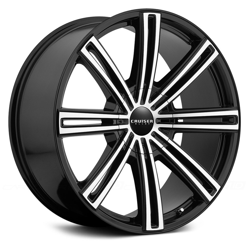 Cruiser Alloy 174 916mb Obsession Wheels Gloss Black With