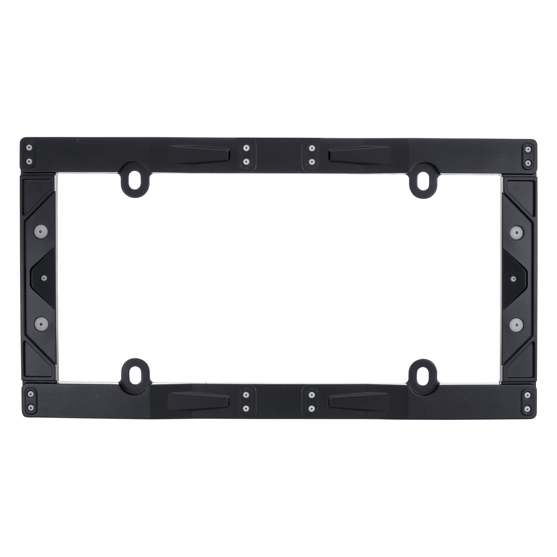 Cruiser® 58150 - Industrial Style Textured Matte Black License Plate ...