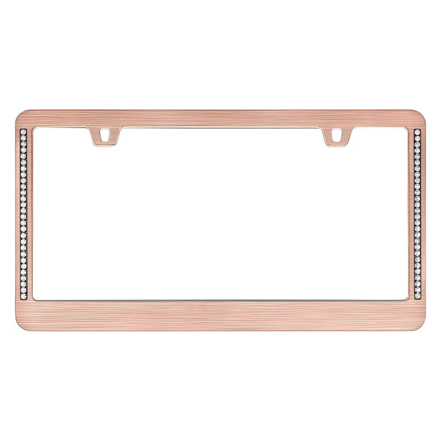 Cruiser® 15000 - Neo Diamondesque Style Rose Gold License Plate Frame