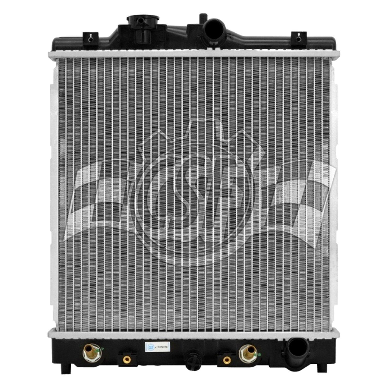 csf honda civic 1999 engine coolant radiator. Black Bedroom Furniture Sets. Home Design Ideas