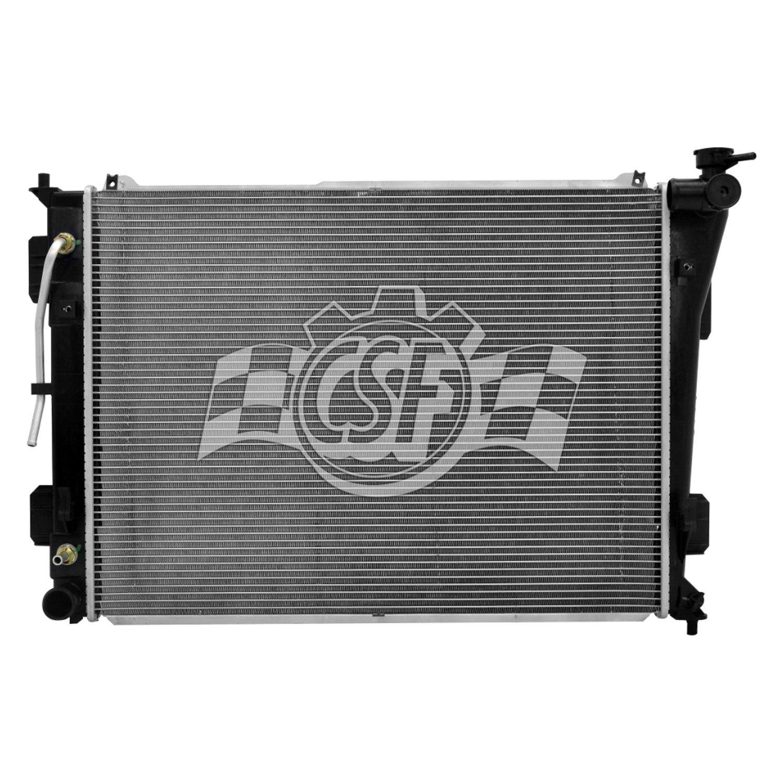 Csf Kia Optima 2011 Engine Coolant Radiator Hose Connector